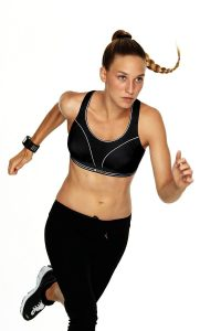 Shock Absorber Ultimate Run Bra, Colour Black, Active Image
