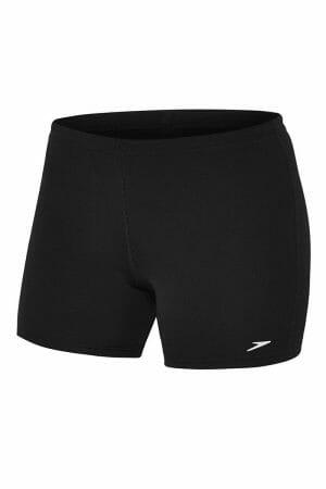 Speedo Womens Sport Short, Colour Black, Front View