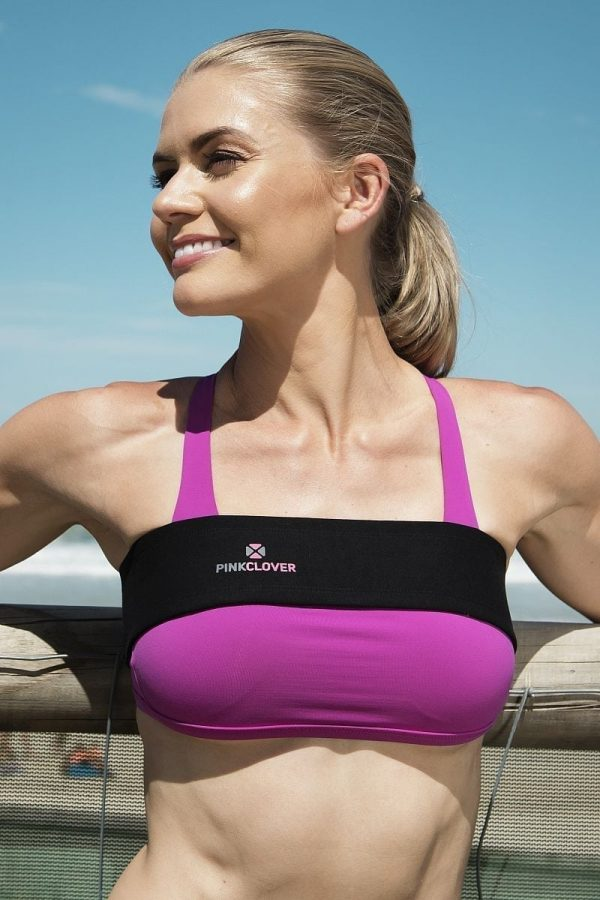 PINKCLOVER Breastband, Colour Black, Beach