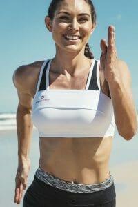 PINKCLOVER Breastband, Colour White, Beach Run