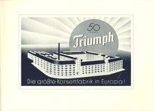 Poster for the 50th Triumph Company Anniversary